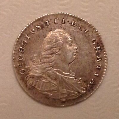 - 1800 Great Britain George III Silver Maundy Penny