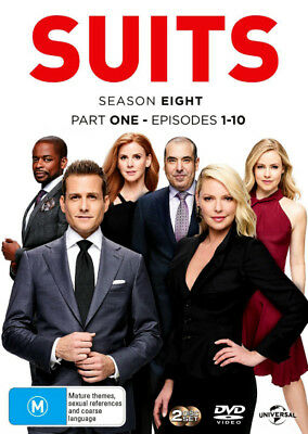 Suits: Season 8 - Part 1 (Episodes 1 - 10)  - DVD - NEW Region 4, 2