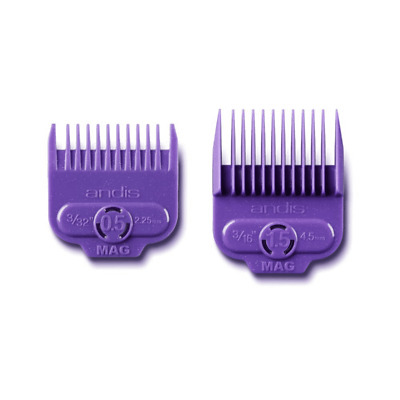 Andis 2 Piece Magnetic Comb Set