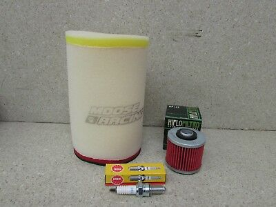 06-17 YAMAHA YFM700 YFM 700 RAPTOR TUNE UP KIT AIR FILTER OIL FILTER SPARK PLUG