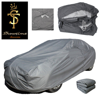 Premium Fully Waterproof Cotton Lined Car Cover Fits Volvo V50 SE LUX (04-)