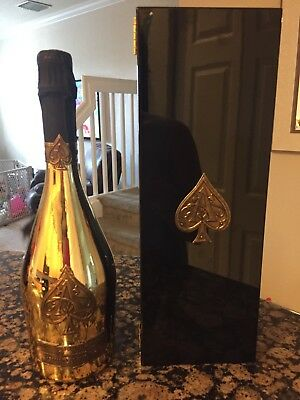 Never Opened New Armand de Brignac Ace of Spades Champagne Bottle 750ml