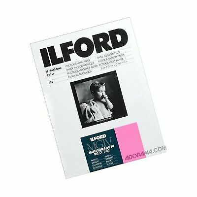 Ilford Multigrade IV RC Deluxe MGD.1M Black and White Variable Contrast Paper...