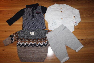 River Island boys winter bundle 0-3 months *I'll combine postage*(72)