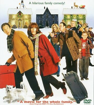 Christmas with the Kranks 2005 PG family comedy movie, new DVD Tim Allen, Curtis