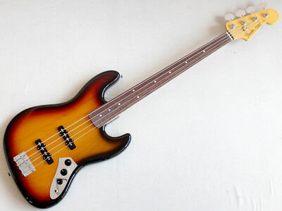 Fender MADE IN JAPAN TRADITIONAL 60S JAZZ BASS FRETLESS Free Shipping