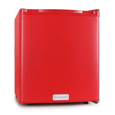 Under Counter Bar Mini Compact Fridge Red Integrated Ice Cube Tray 48L Red