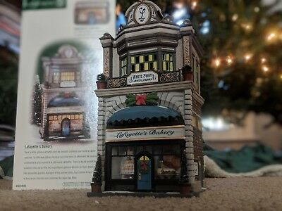 Dept. 56 CHRISTMAS IN THE CITY - Lafayette's Bakery