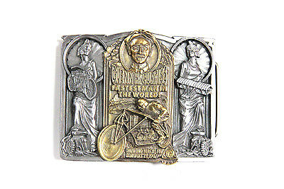 Curtiss Belt Buckle for All Motorcycle Lovers! Harley