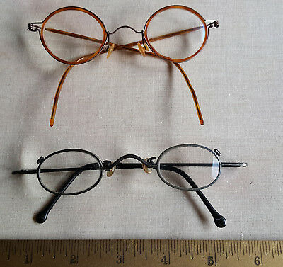 Two Pairs of Eyeglass Frames - Vintage style -sold together