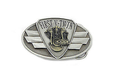 First V-Twin Belt Buckle for All Motorcycle Lovers! Harley