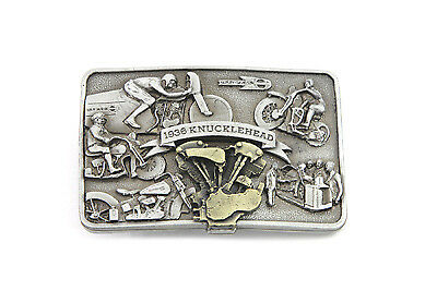 Knucklehead Engine Belt Buckle for All Harley Lovers!