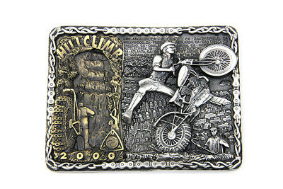 Hillclimber Belt Buckle for All Motorcycle Lovers!