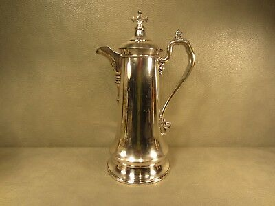 HUGE Reed & Barton Silver Plate 14 1/2 inch tall Water Pitcher / Coffee Pot