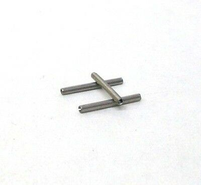 "Pack Of 50 New 1/16"" X 5/8"" 420 Stainless Steel Spring Roll Pins Free Ship Nh"