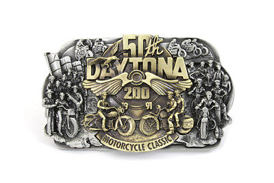50th Daytona Belt Buckle for Display or Belt Usage