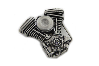 V-Twin Belt Buckle for All Motorcycle Lovers! Harley