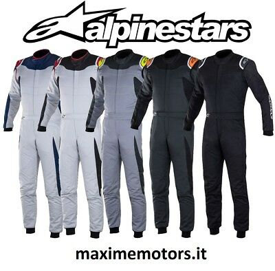 Tute ALPINESTARS GP RACE omologate FIA 8856-2000 suit Racing Race Rally