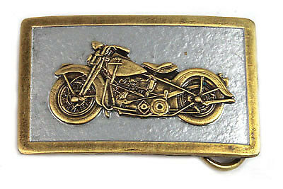 1948 Panhead Pewter Belt Buckle for All Harley Lovers!