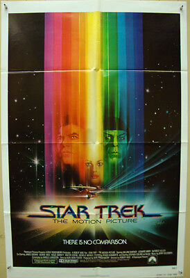 Star Trek: The Motion Picture-Sci fi-R.Wise-Art By Peak-Advance Int'l (27x41 inc