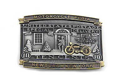 Postage Belt Buckle for All Motorcycle Lovers! Harley