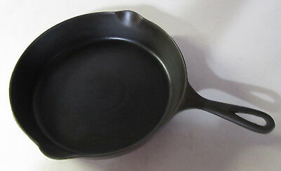 VINTAGE Restored Cast Iron skillet #8 WAPAK Hollow Ware, with Heat Ring, Antique