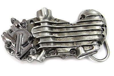 45 Cam Cover Belt Buckle for All Motorcycle Lovers! Harley