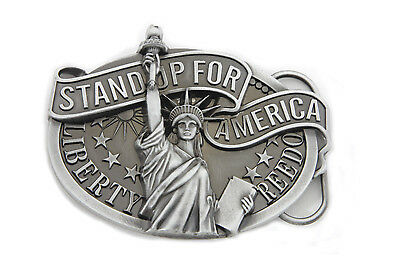 Liberty Belt Buckle for All Motorcycle Lovers! Harley