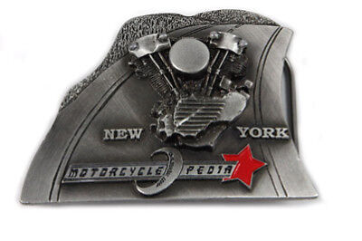 Motorcyclepedia Belt Buckle for All Motorcycle Lovers! Harley
