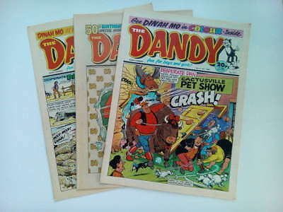 DANDY COMICS from the 1980s Vintage Collectable * Buy 4 get 1 FREEE *