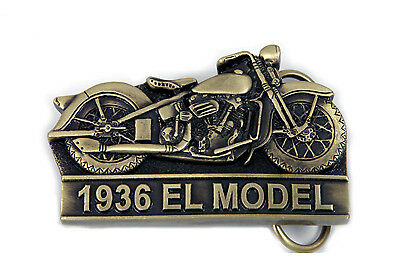 1936 Knucklehead Belt Buckle for All Harley Lovers!