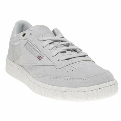 d2c4daff1aa78 NEW MENS REEBOK GRAY CLUB C 85 SUEDE Sneakers Court