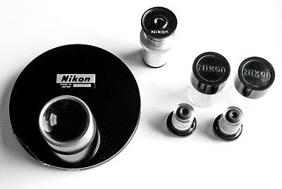 Nikon MS Inverted Microscope Phase-Contrast Set Mikroskop Phasenkontrast