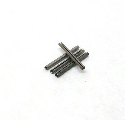 "145 New 1/16"" X 3/4"" 420 Stainless Steel Spring Roll Pins Slotted Free Ship Nh"