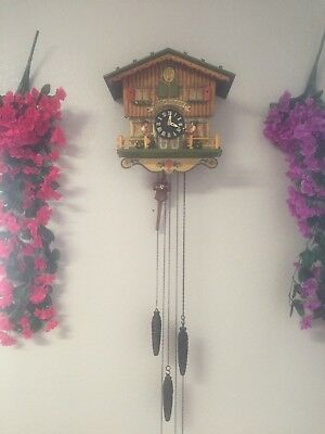 Cuckoo Clock 1 day  with musical box