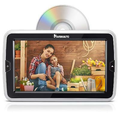 """10.1"""" Headrest DVD Player for Car & Home Auto Suction Drive Region Free HDMI USB"""