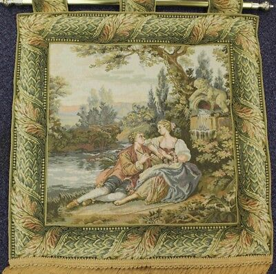 Large Vintage tapestry ##WEL WH EP