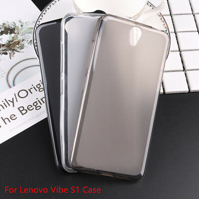 For Lenovo Soft Pudding TPU Silicone Back Cover Case Protector