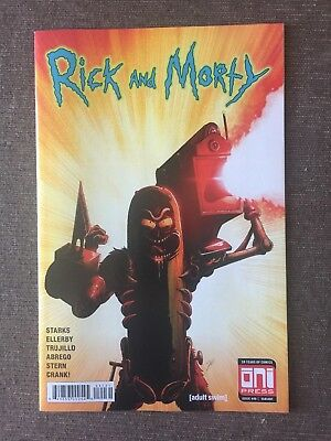 Rick And Morty #42 Variant Iron Man Homage Mike Vasquez