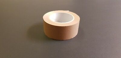 Brown Self Adhesive Backing Tape 50mm Masking Tape Craft Tape SALE TO CHRISTMAS