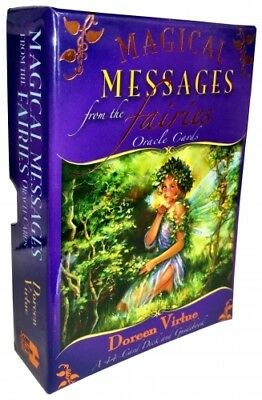 Magical Messages from the Fairies Oracle Cards: A 44-Card Deck and Guidebook:...