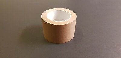 Brown Self Adhesive Backing Tape Masking Tape 75mm Craft Tape Eco Tap CHEAP SALE