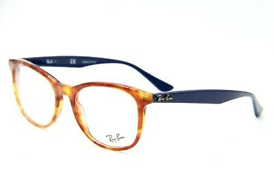 8ede5a88376 New Ray-Ban Rb 5356 5609 Havana Eyeglasses Authentic Frames Rx Rb5356 52-19
