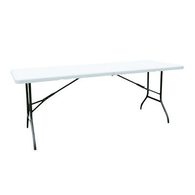 Portable 6' Folding Plastic Picnic Party Dining Camping Table Indoor/Outdoor