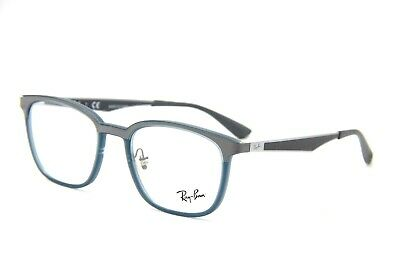 43dd1b5830c New Ray-Ban Rb 7117 5679 Grey Eyeglasses Authentic Frames Rx Rb7117 50-19