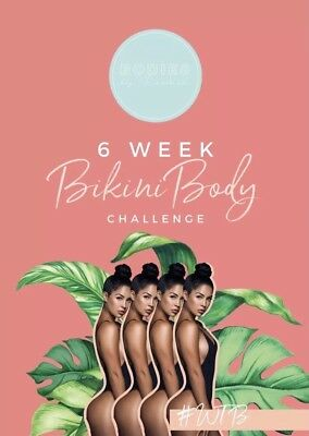 BBR 6 Week Bikini Challenge Meal Plan / Bodies By Rachel / Rachel Dillon