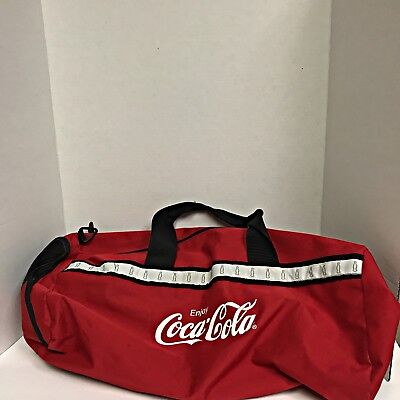 a5fd696f8a Coca Cola Zip Up Duffle Bag Coke Merchandise Used Only Once! Pristine  Condition!