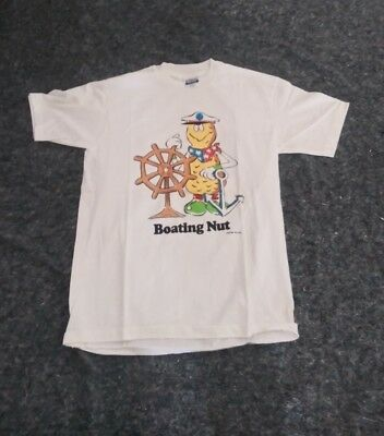 "Vintage Jack Wohl's  "" Boating Nut "" T-shirt ( 1989 )"