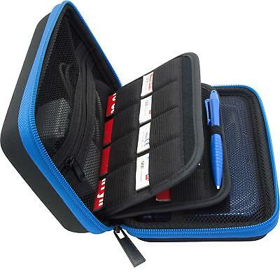 Nintendo 2DS XL  3DS Travel Carry Case FREEStylus,24Card holder,Fit Wall Charger