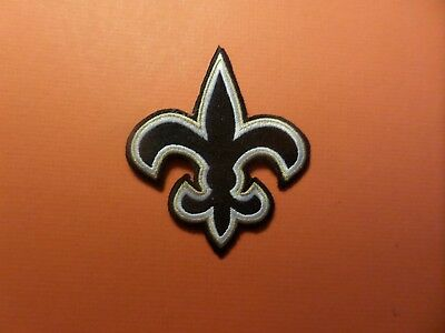 New Orleans Saints Iron On 3-1/2 X 3 Patch